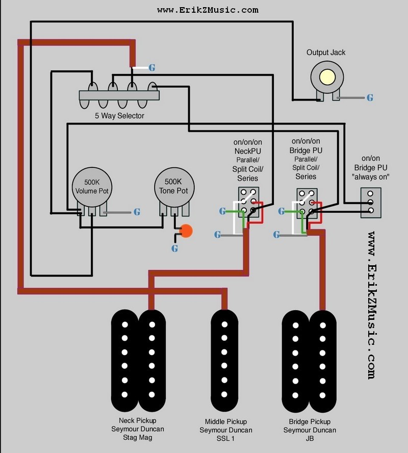 hhh wiring ideas fender stratocaster guitar forum